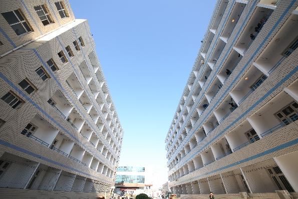 河北商貿學校新校區 校園圖